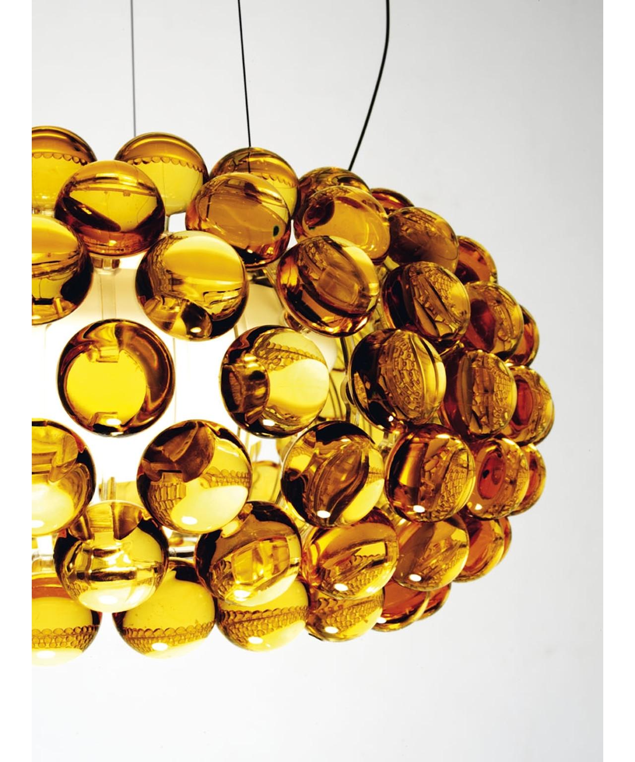 caboche klein pendelleuchte gelb gold foscarini. Black Bedroom Furniture Sets. Home Design Ideas