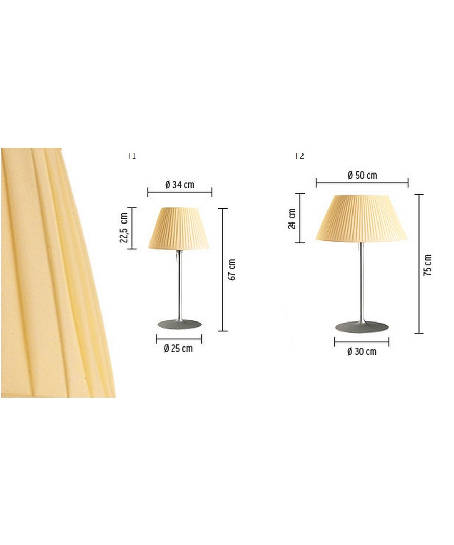Romeo Soft T1 Bordlampe - Flos