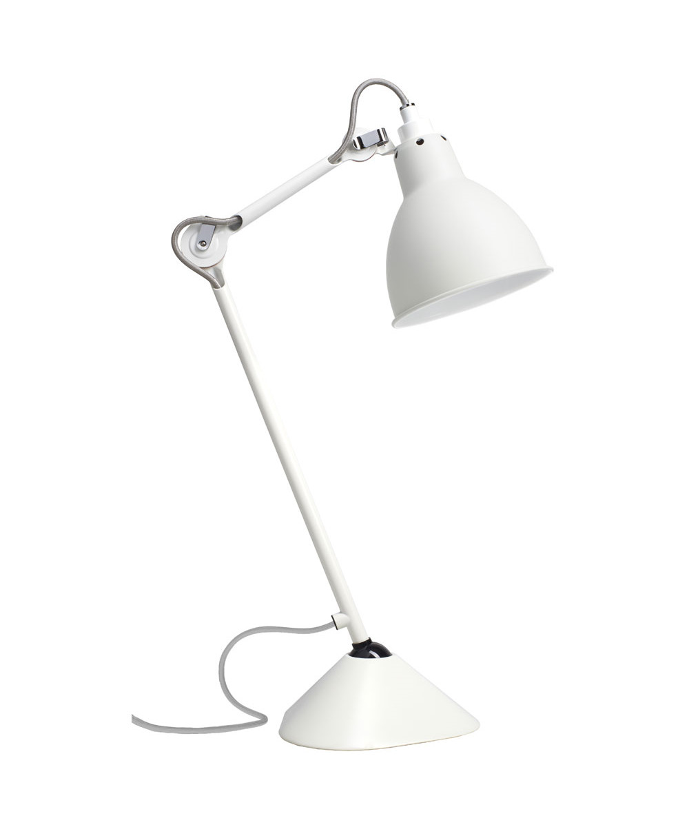 Image of   205 Bordlampe Hvid - Lampe Gras