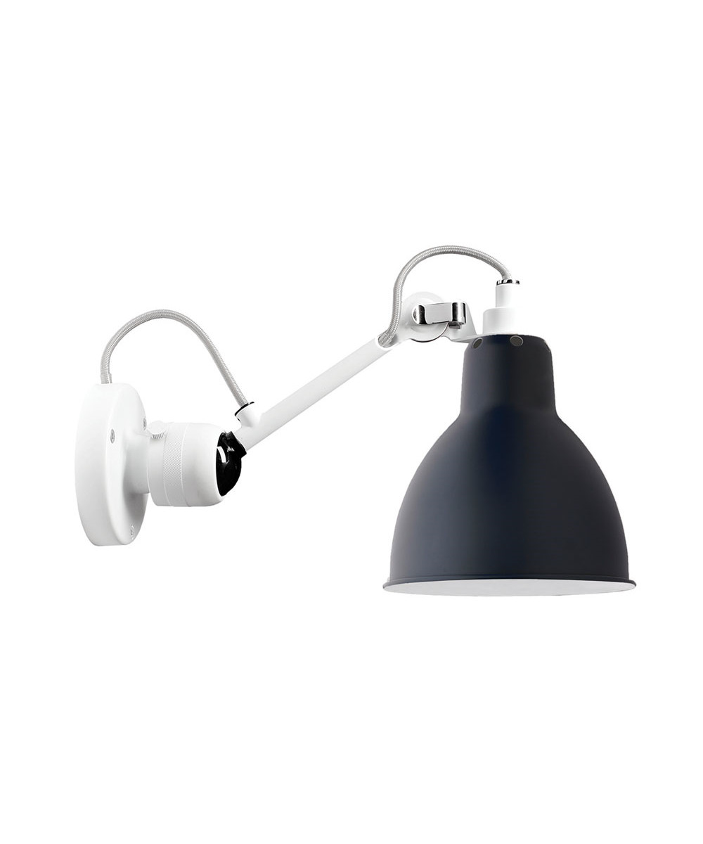 304 Væglampe Hvid/Blå - Lampe Gras thumbnail