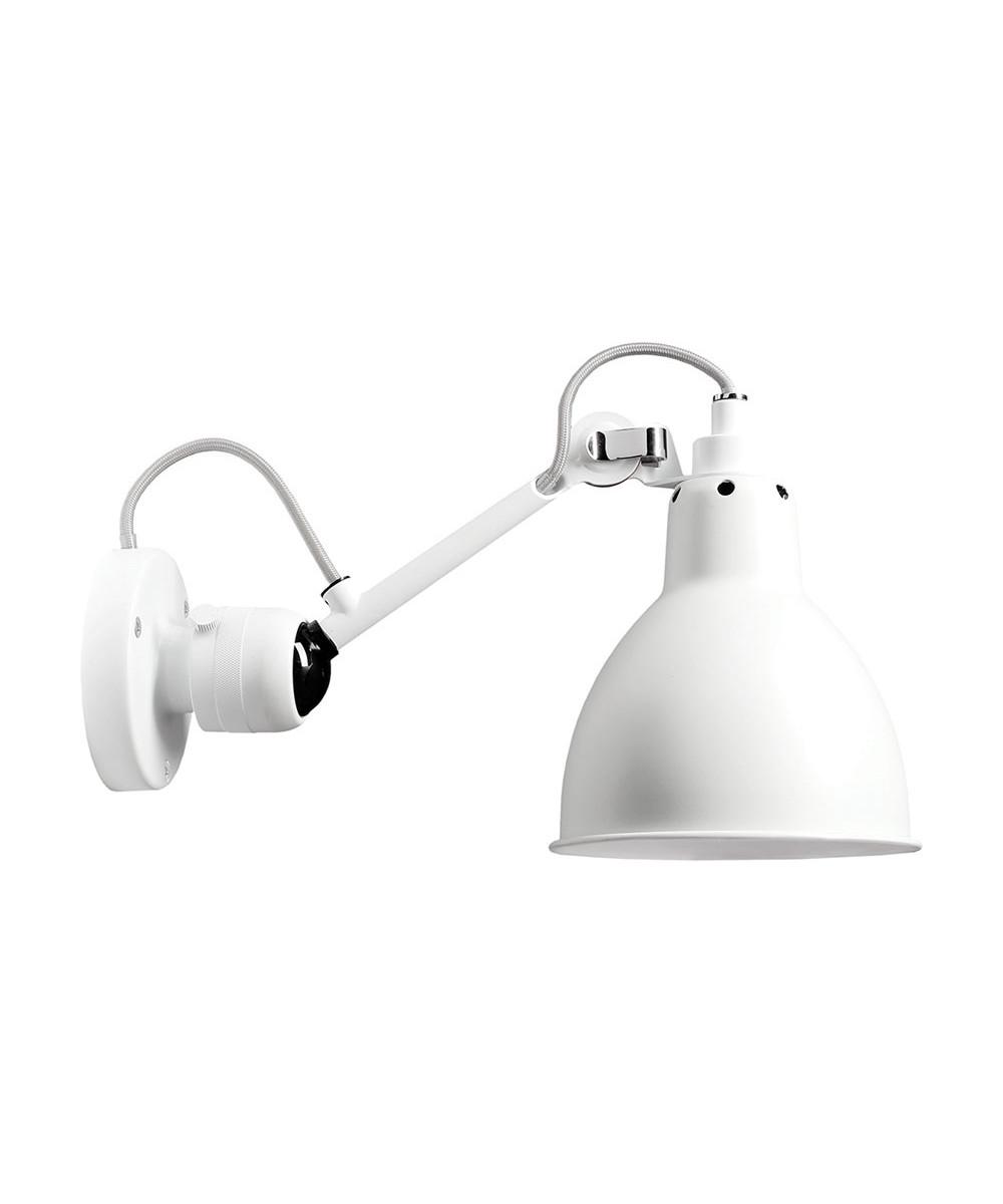Image of   304 Væglampe Hvid/Hvid - Lampe Gras