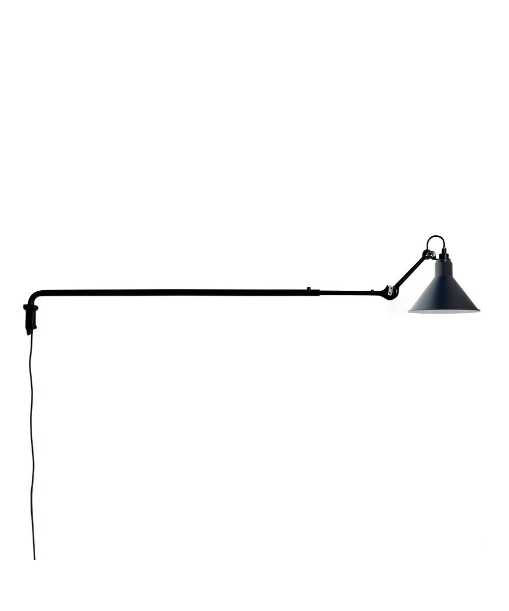 Image of   213 Væglampe Sort/Blå - Lampe Gras