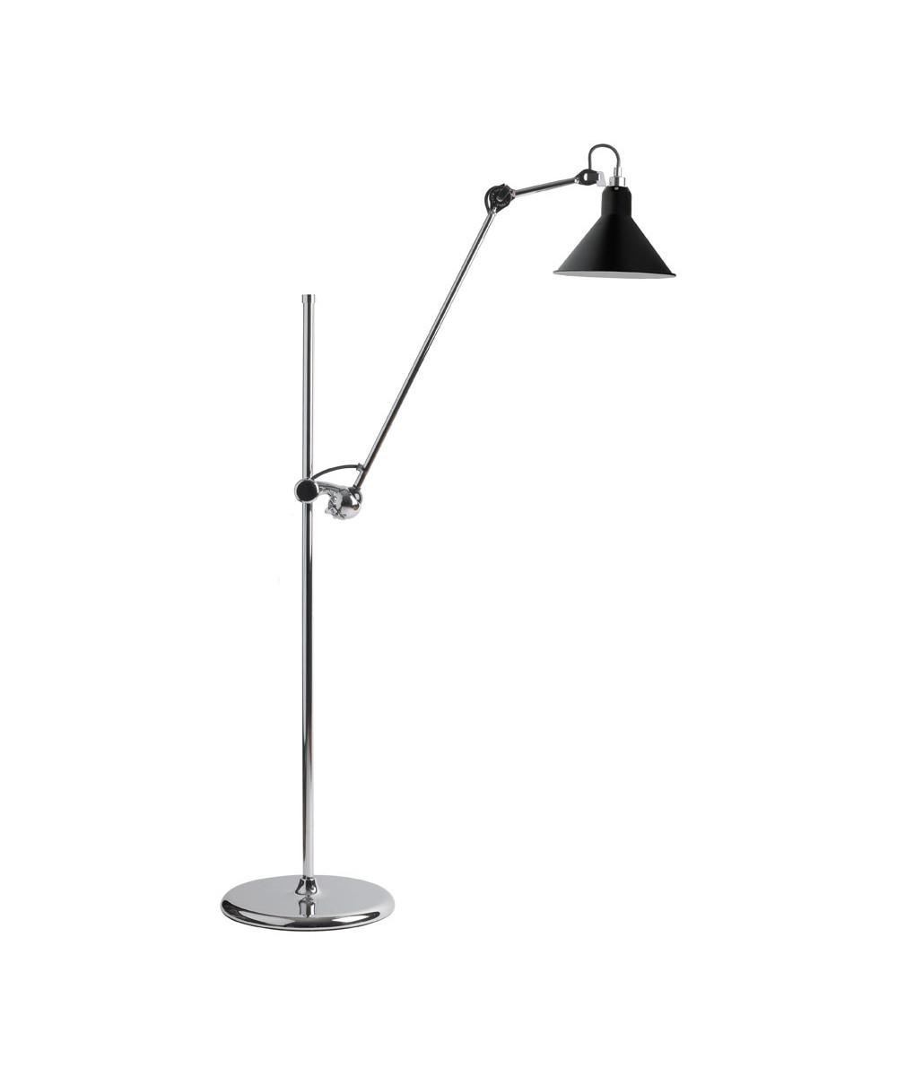215 Gulvlampe Krom/Sort - Lampe Gras thumbnail