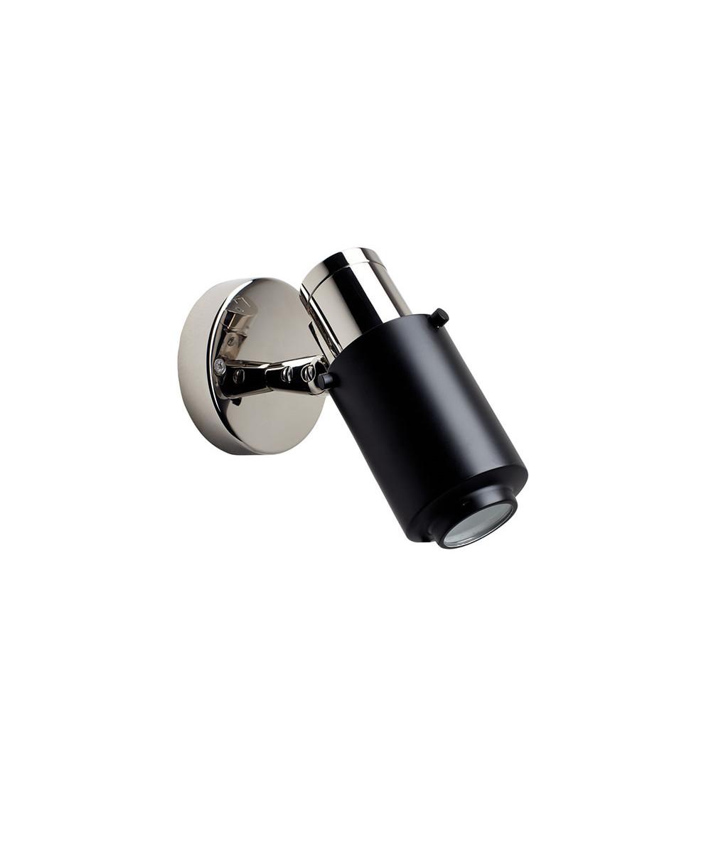 Biny Spot LED Nikkel/Sort - DCW thumbnail