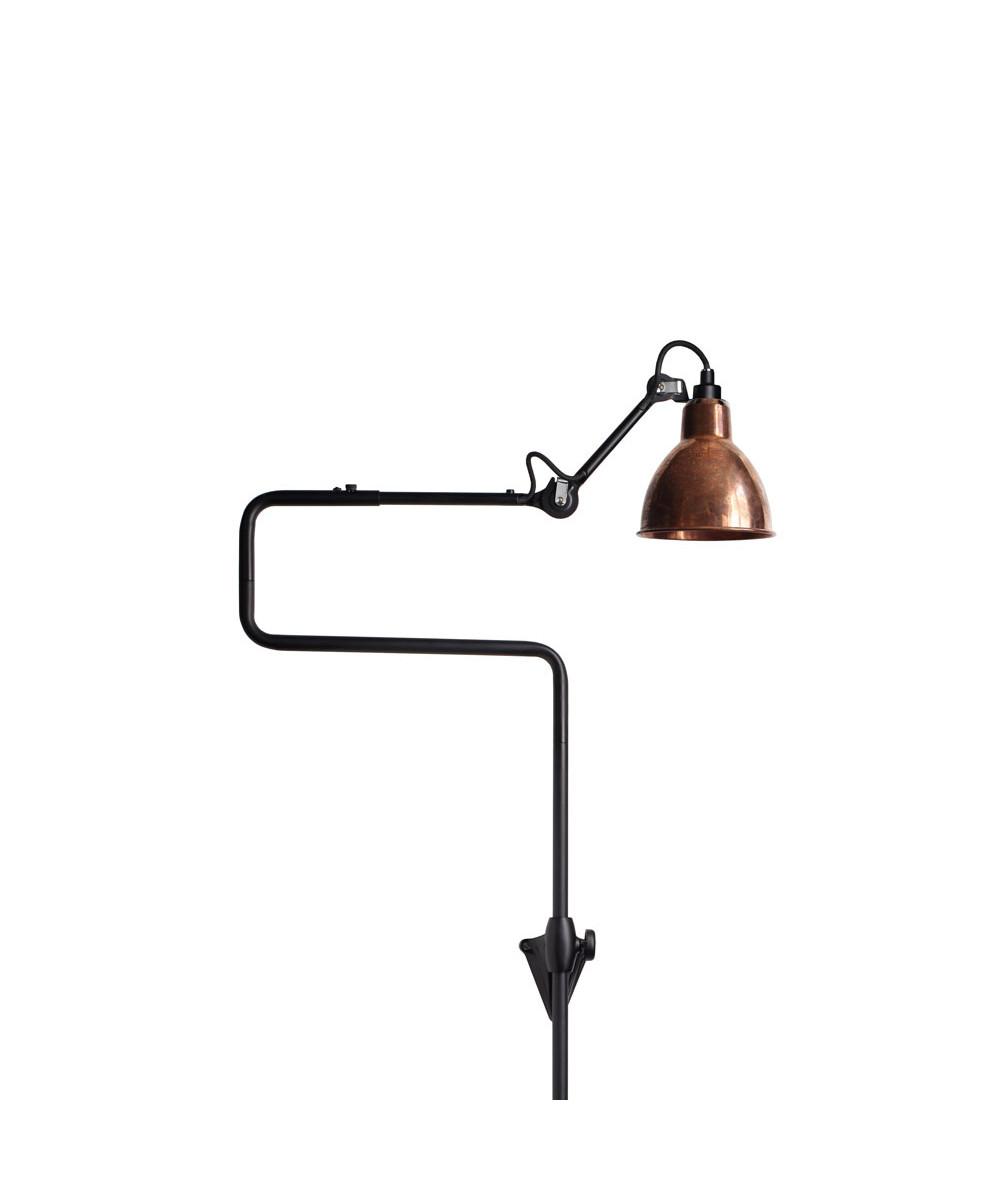 217 Væglampe Sort/Raw Kobber - Lampe Gras thumbnail