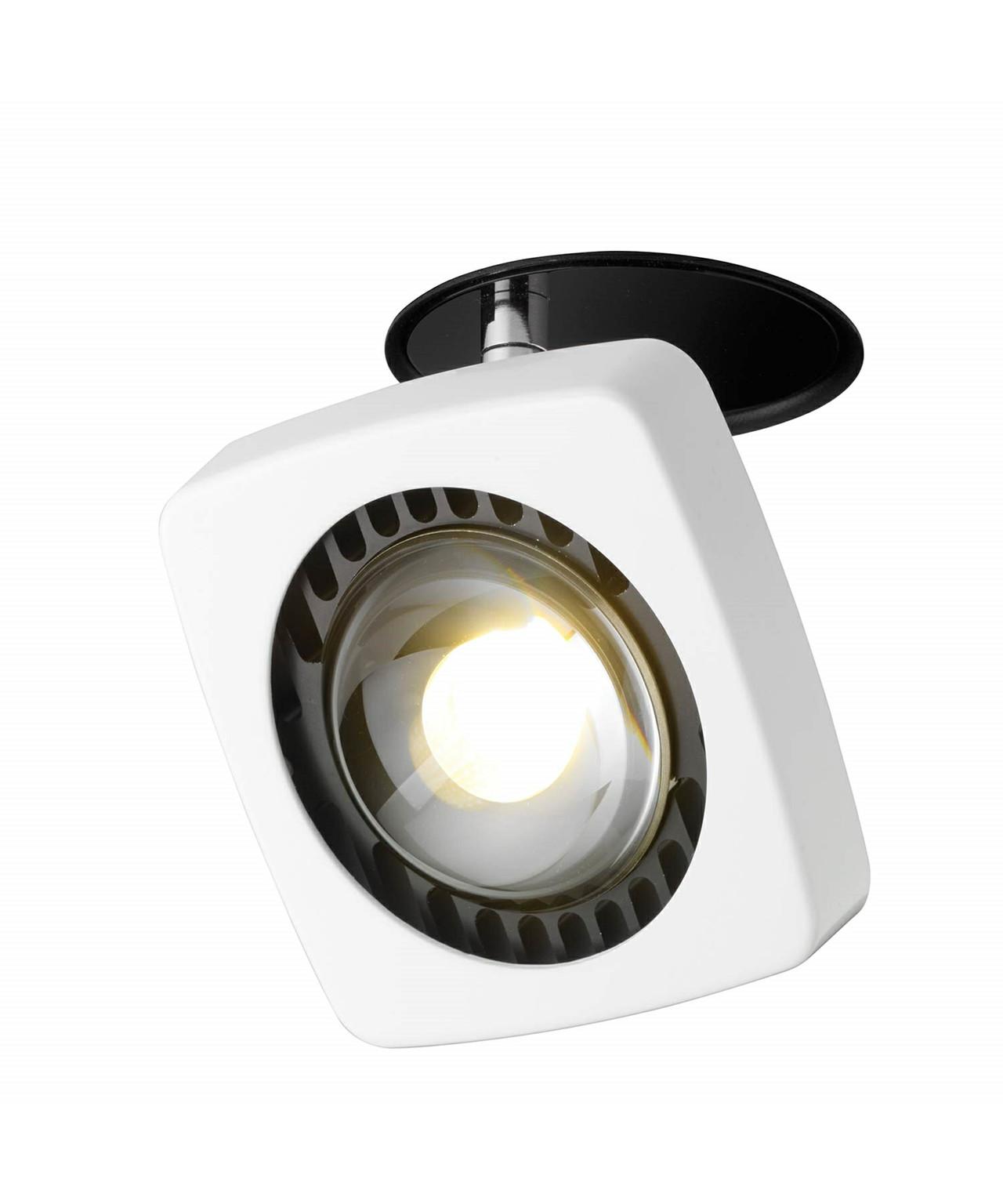 Kelveen loftlampe/væglampe recessed turnable 90°
