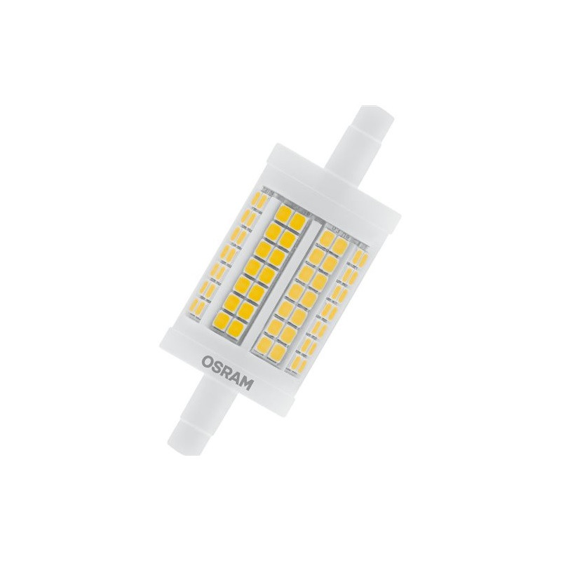 Pære LED 8W Dæmpbar 78mm R7s - Osram thumbnail
