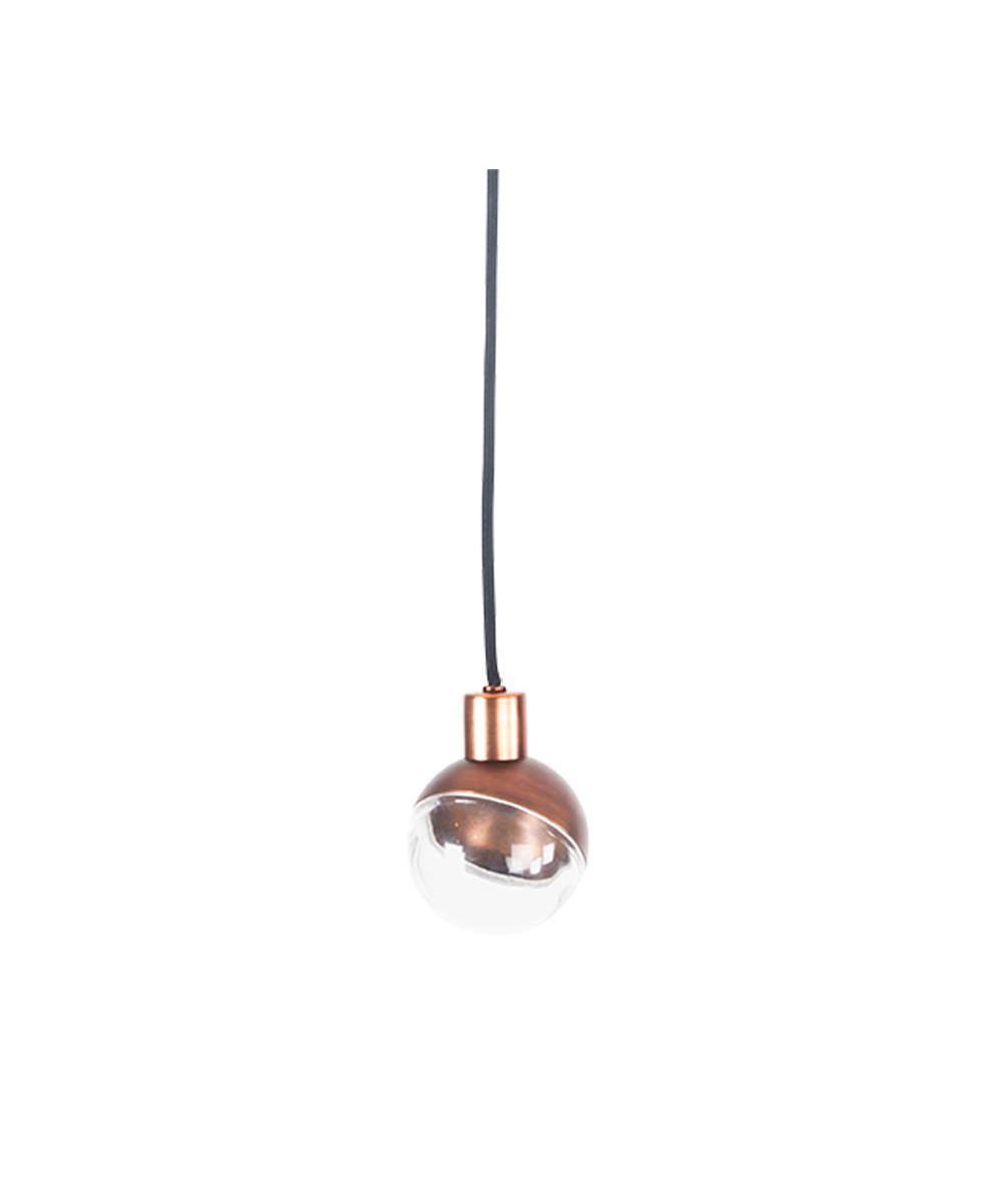 Arc bulb pendel bronze