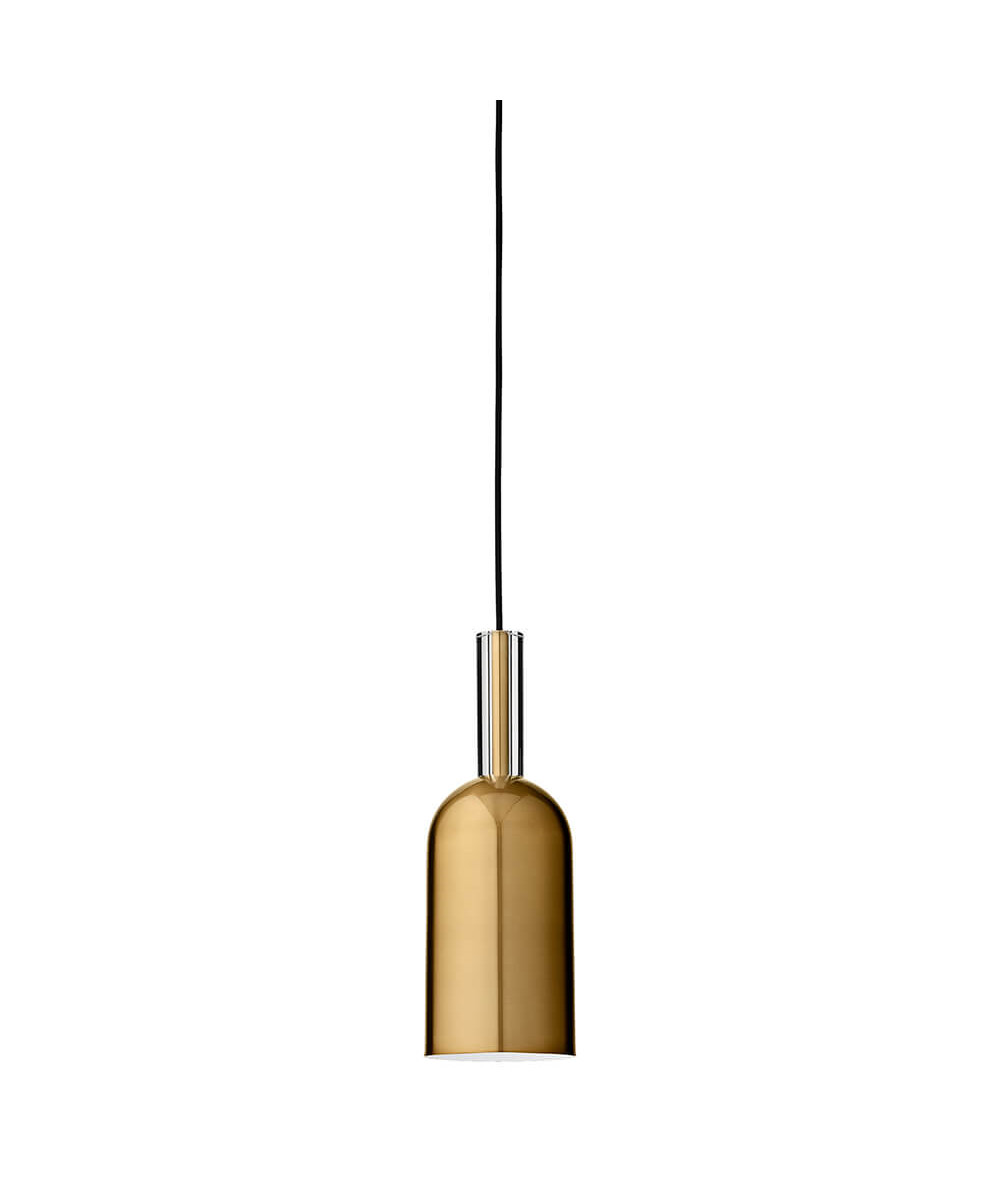 Bilde av Luceo Cylinder Pendel Gold/clear - Aytm