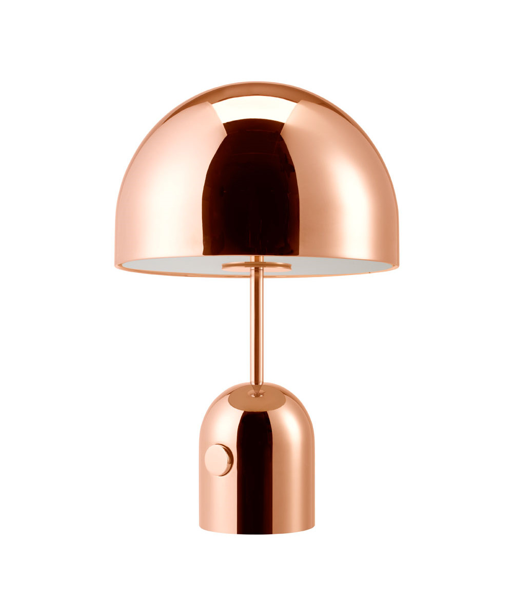 Bell Bordlampe Kobber - Tom Dixon