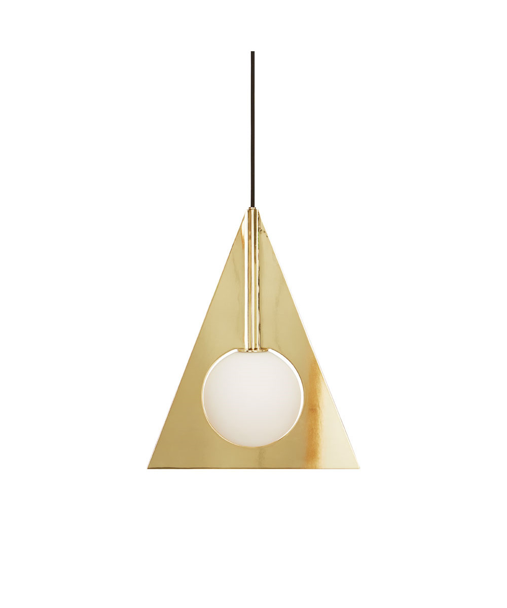Plane Triangle Pendel - Tom Dixon