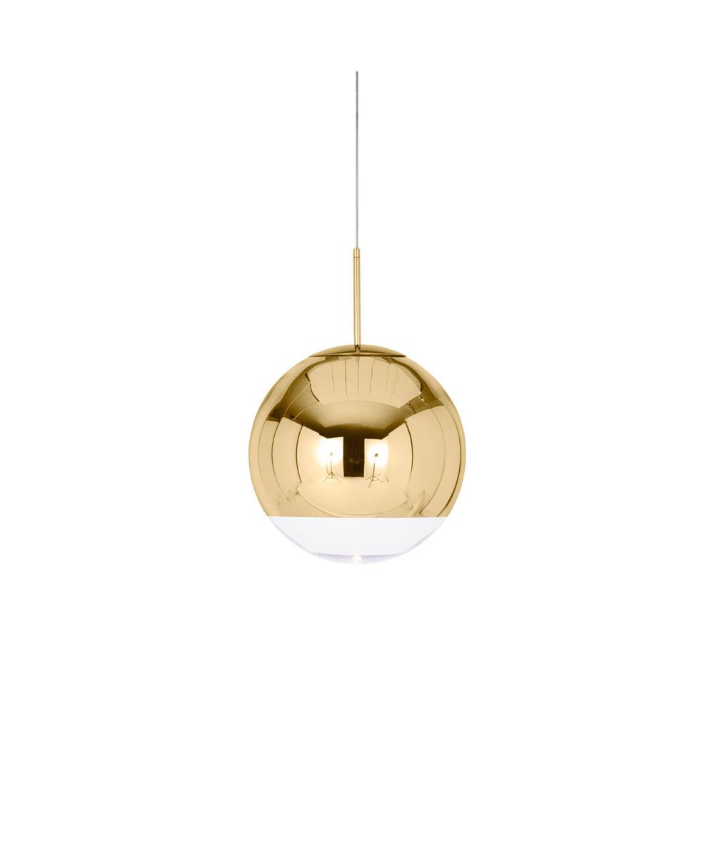 Mirror Ball 40 Pendel Guld - Tom Dixon