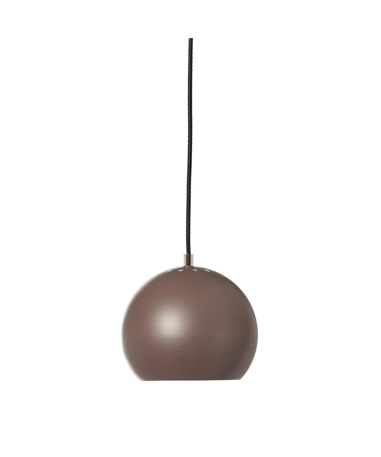 Ball pendel mat brun