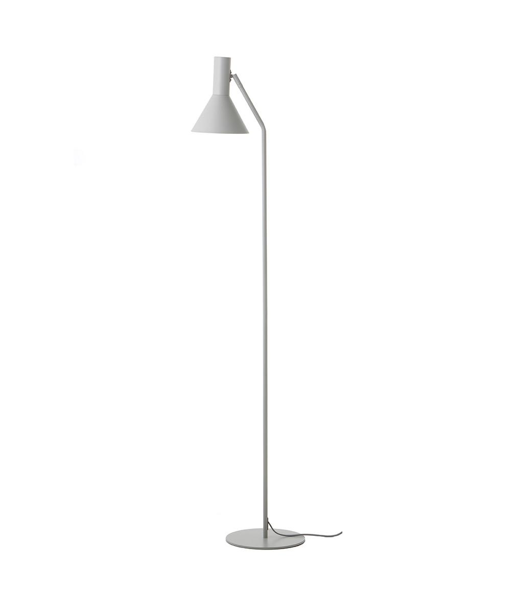 Lyss Gulvlampe Light Grey - Frandsen