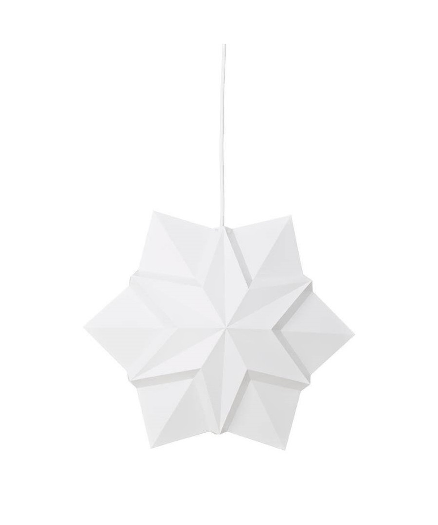 Le klint stjerne medium hvid