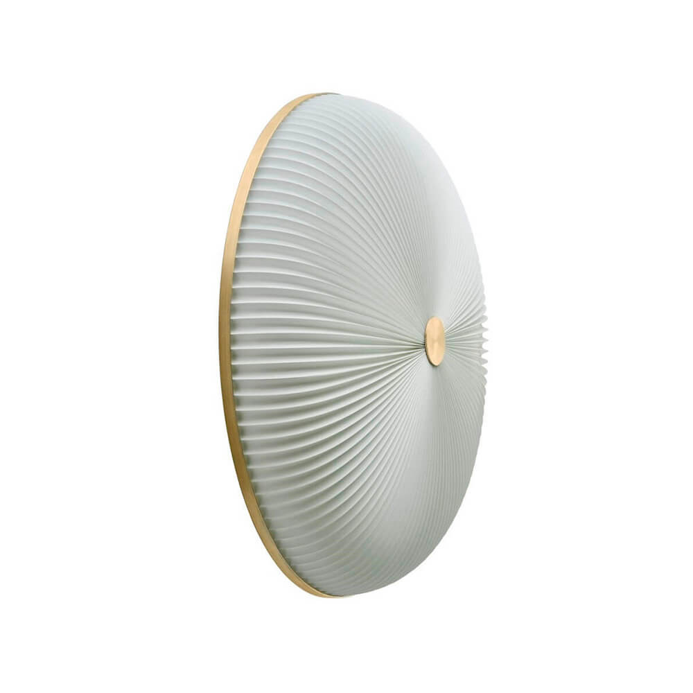 Lamella Væglampe/Loftlampe Ø50 Gold - Le Klint