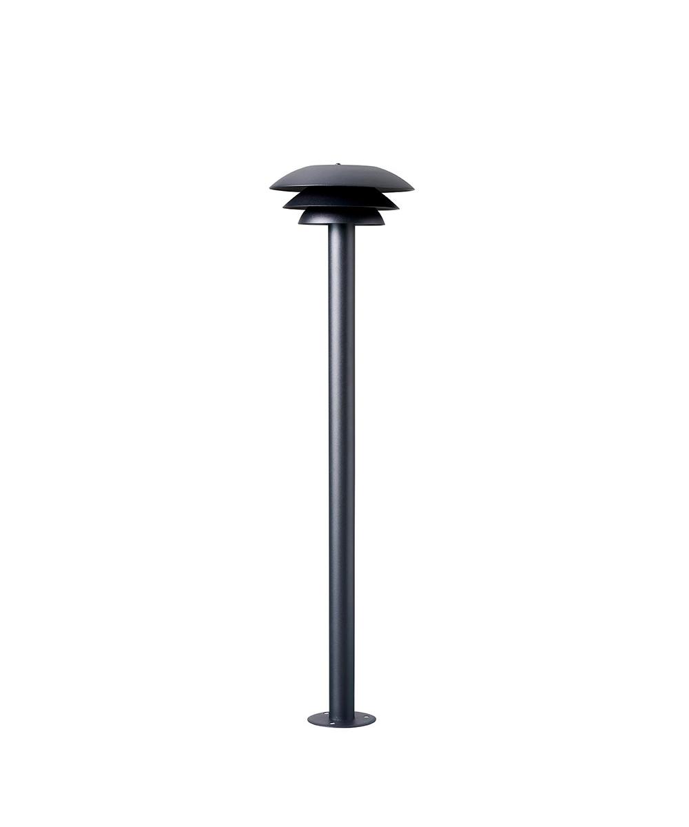 Image of   DL25 Udendørs Path Lamp Black - DybergLarsen