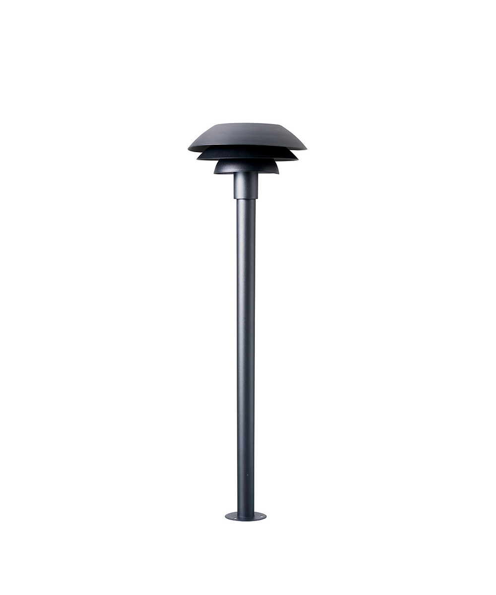 Image of   DL31 Udendørs Bedlampe Mat Sort - DybergLarsen