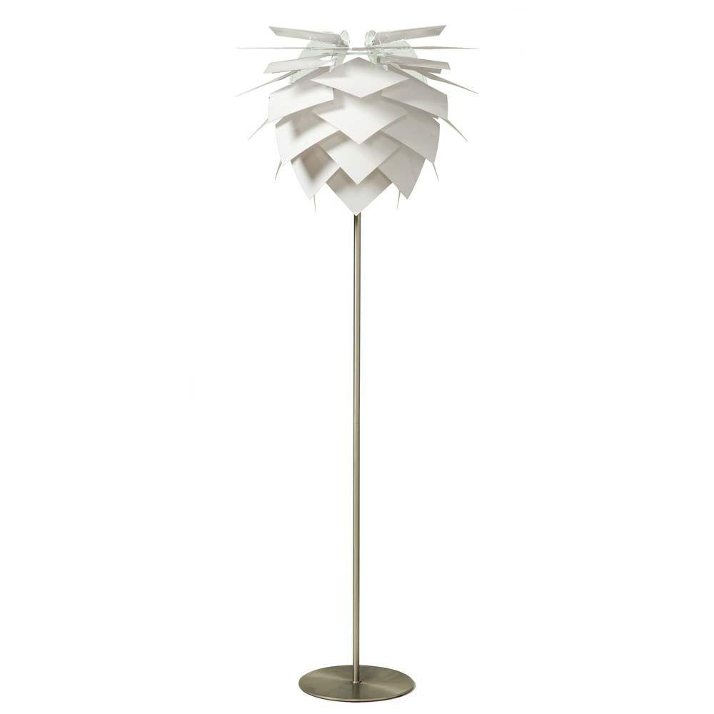 PineApple Medium Gulvlampe Hvid - DybergLarsen