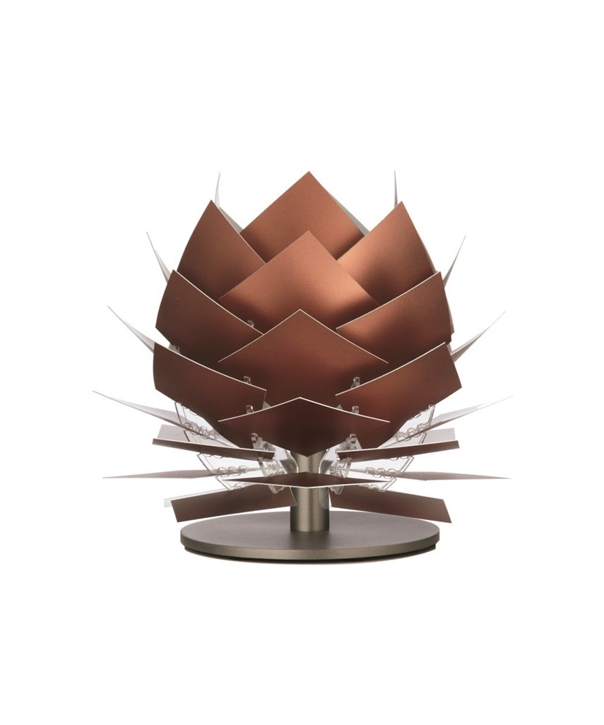 pineapple xs led niedrige tischleuchte kupfer look dyberglarsen. Black Bedroom Furniture Sets. Home Design Ideas