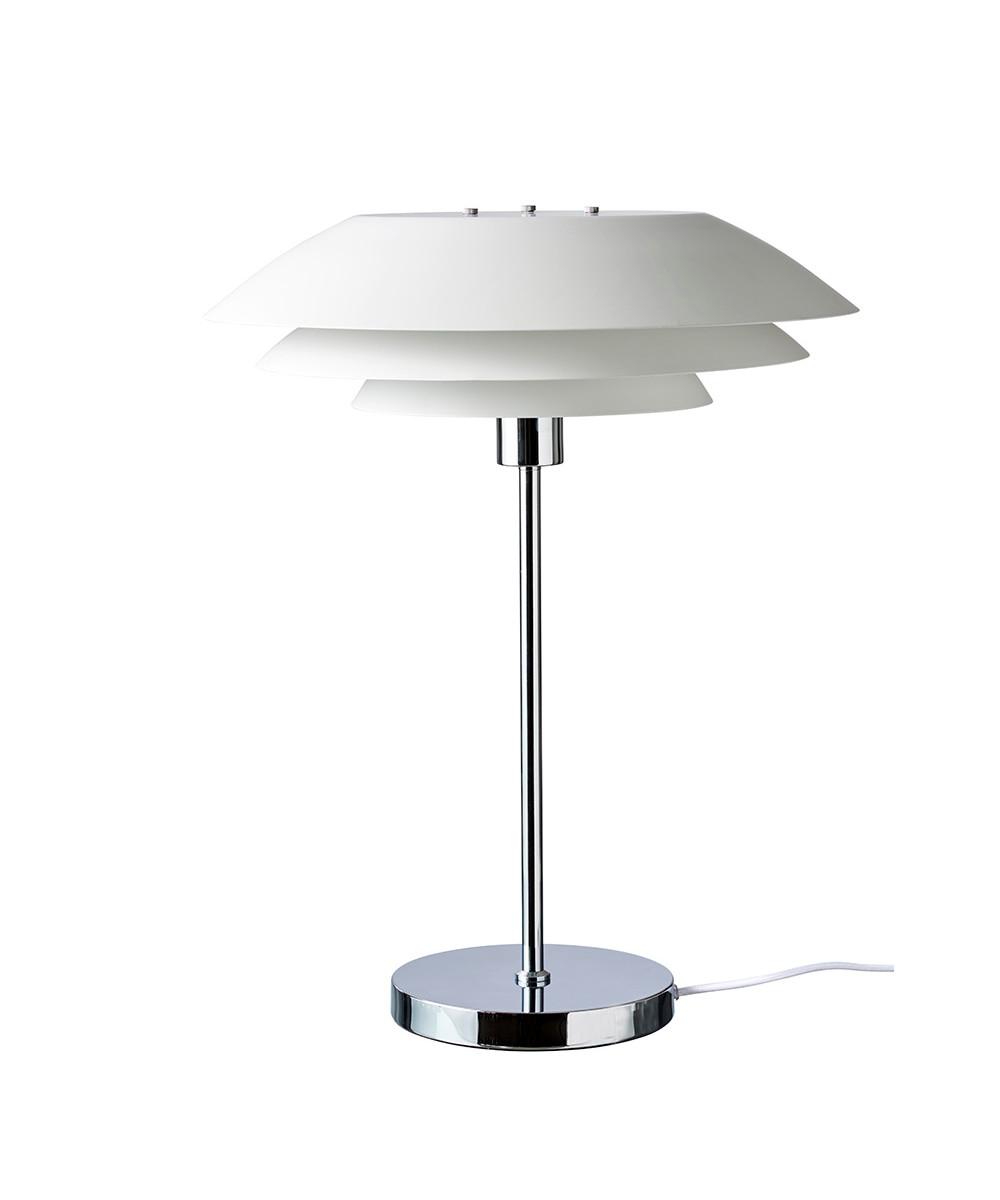 Image of   DL45 Bordlampe Mat Hvid - DybergLarsen