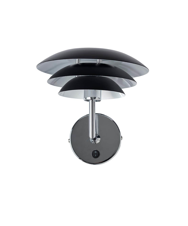 Image of   DL20 Væglampe Sort - DybergLarsen