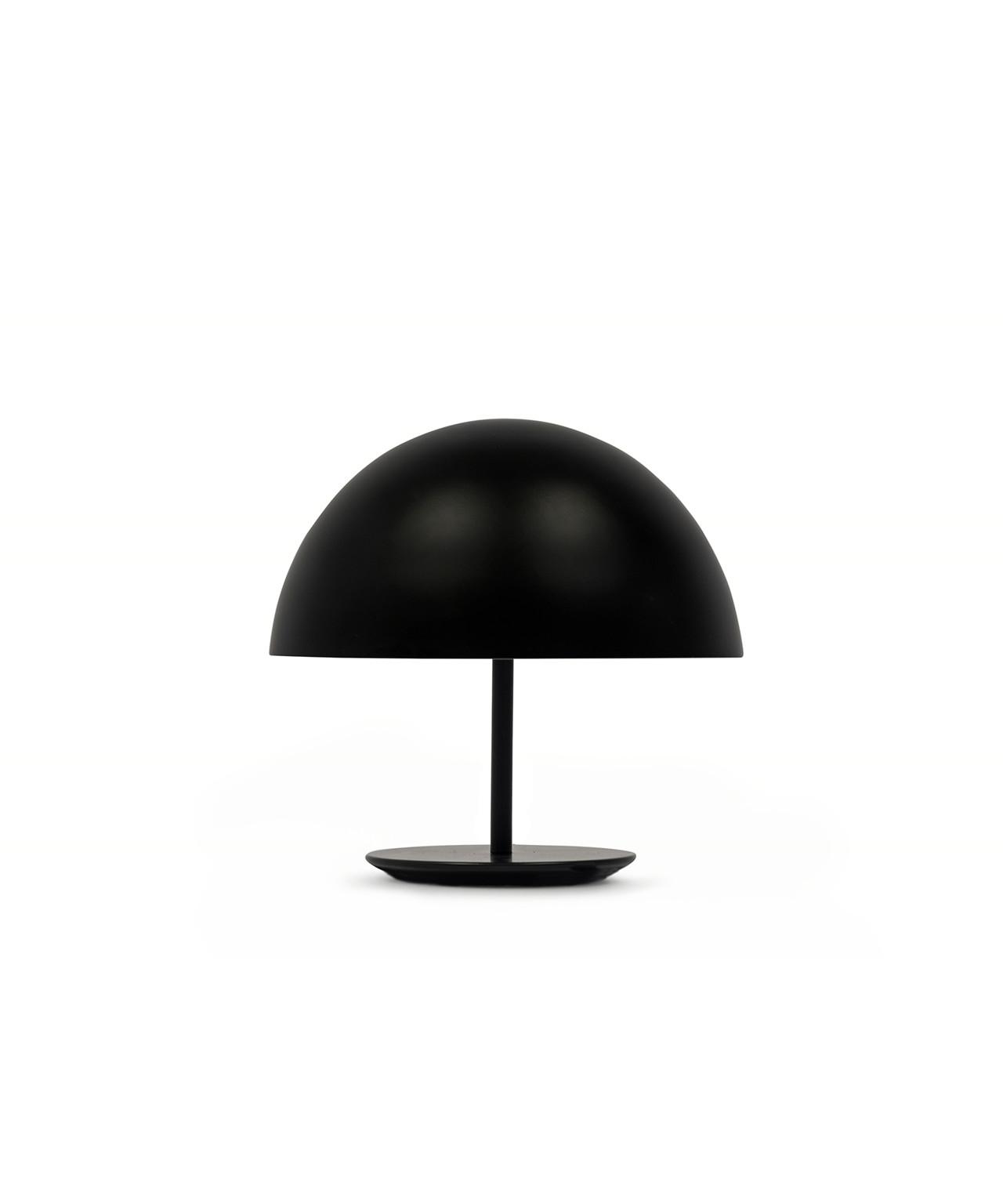 Dome bordlampe sort
