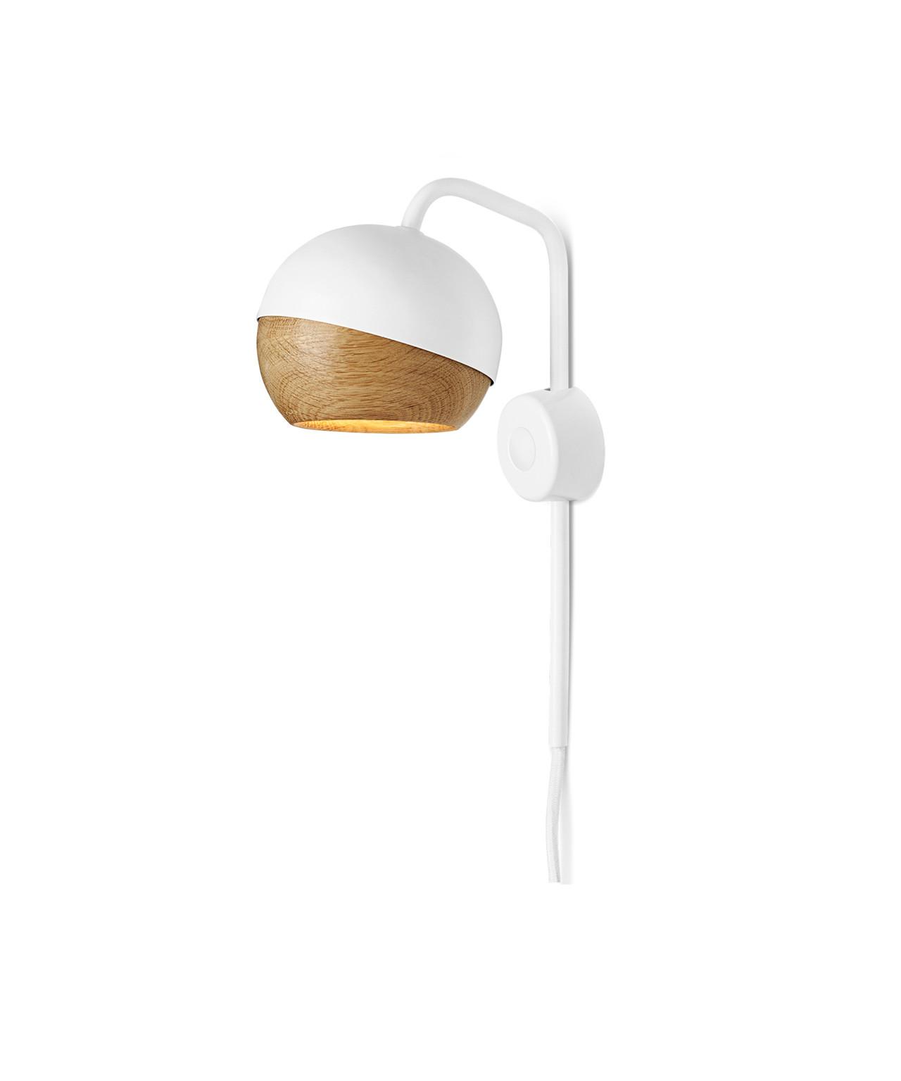Ray væglampe hvid