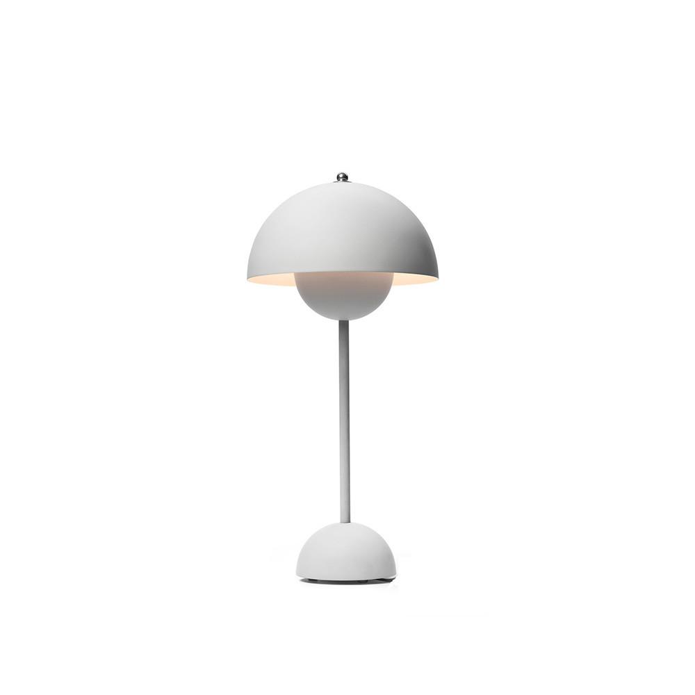 Flowerpot VP3 Bordlampe Lys Mat Grå - &tradition