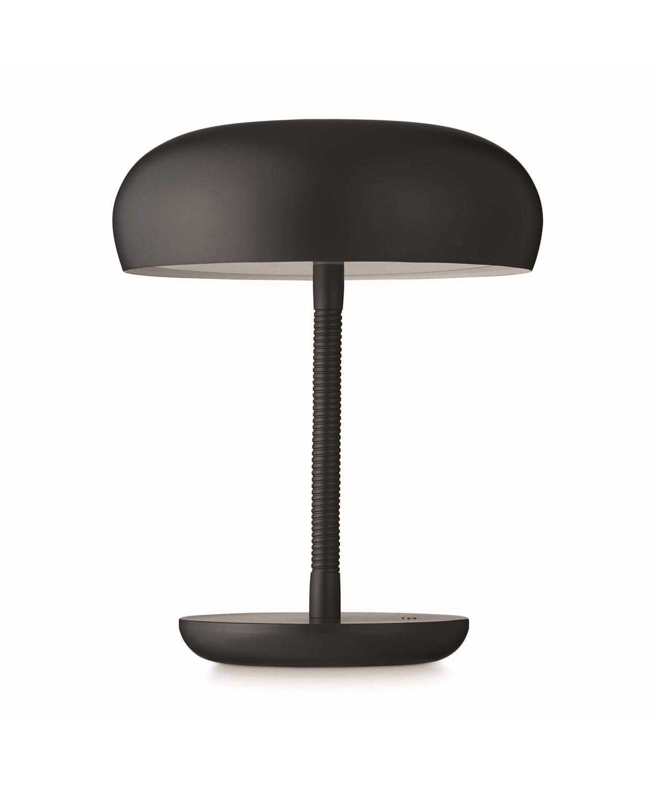 Bend bend bordlampe mørk grå