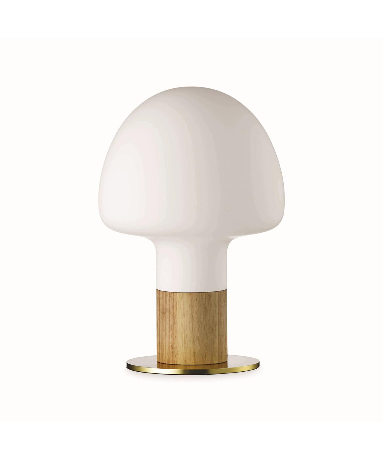 Mush bordlampe opal transparent