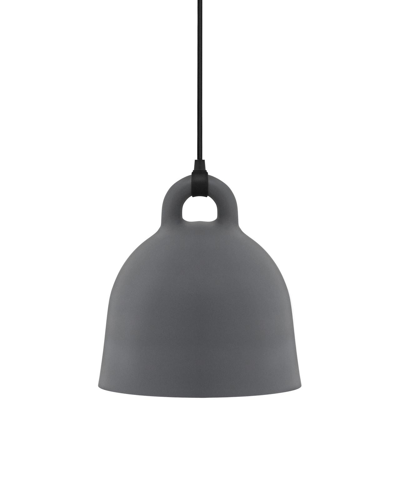 Bell pendel small grå
