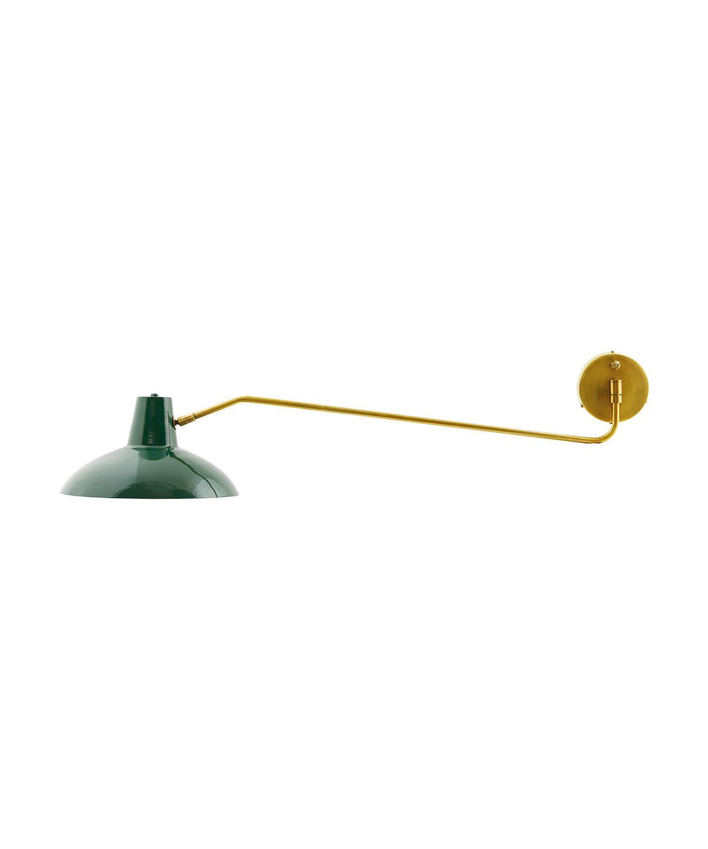 Desk Væglampe Mat Grøn - House Doctor