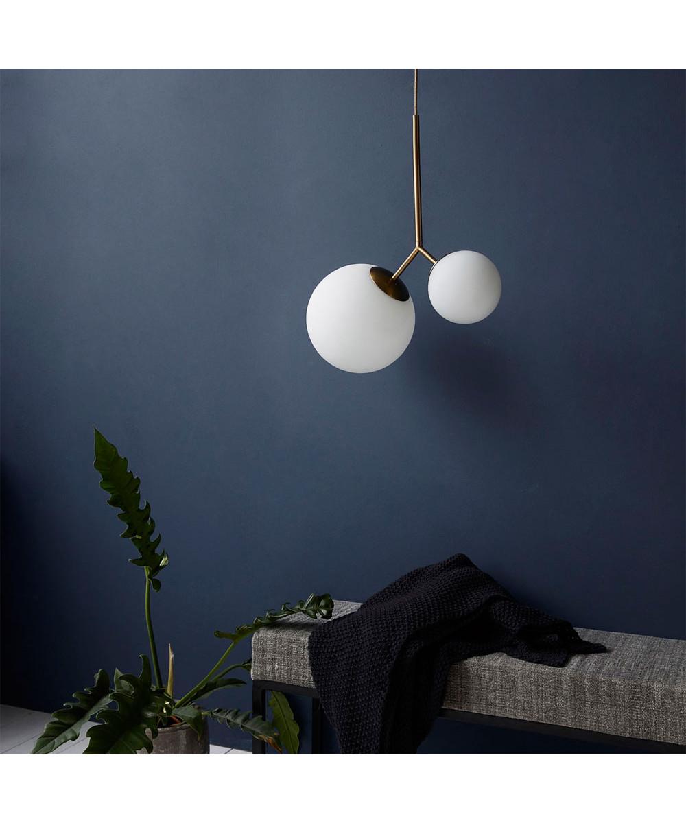 twis pendel lampe hvit house doctor. Black Bedroom Furniture Sets. Home Design Ideas