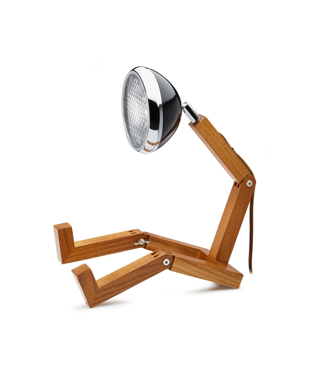 Mr. wattson bordlampe sort