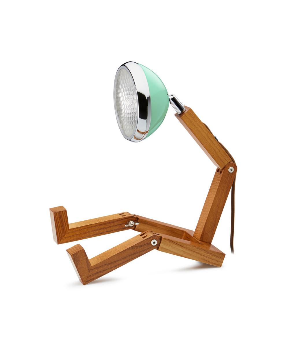 Mr. wattson bordlampe tiffany green