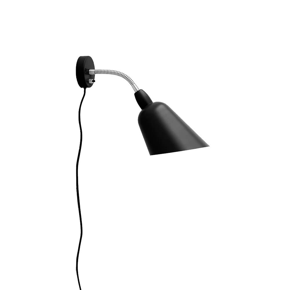 Image of Bellevue AJ9 Væglampe Sort & Stål - &tradition (12629993)