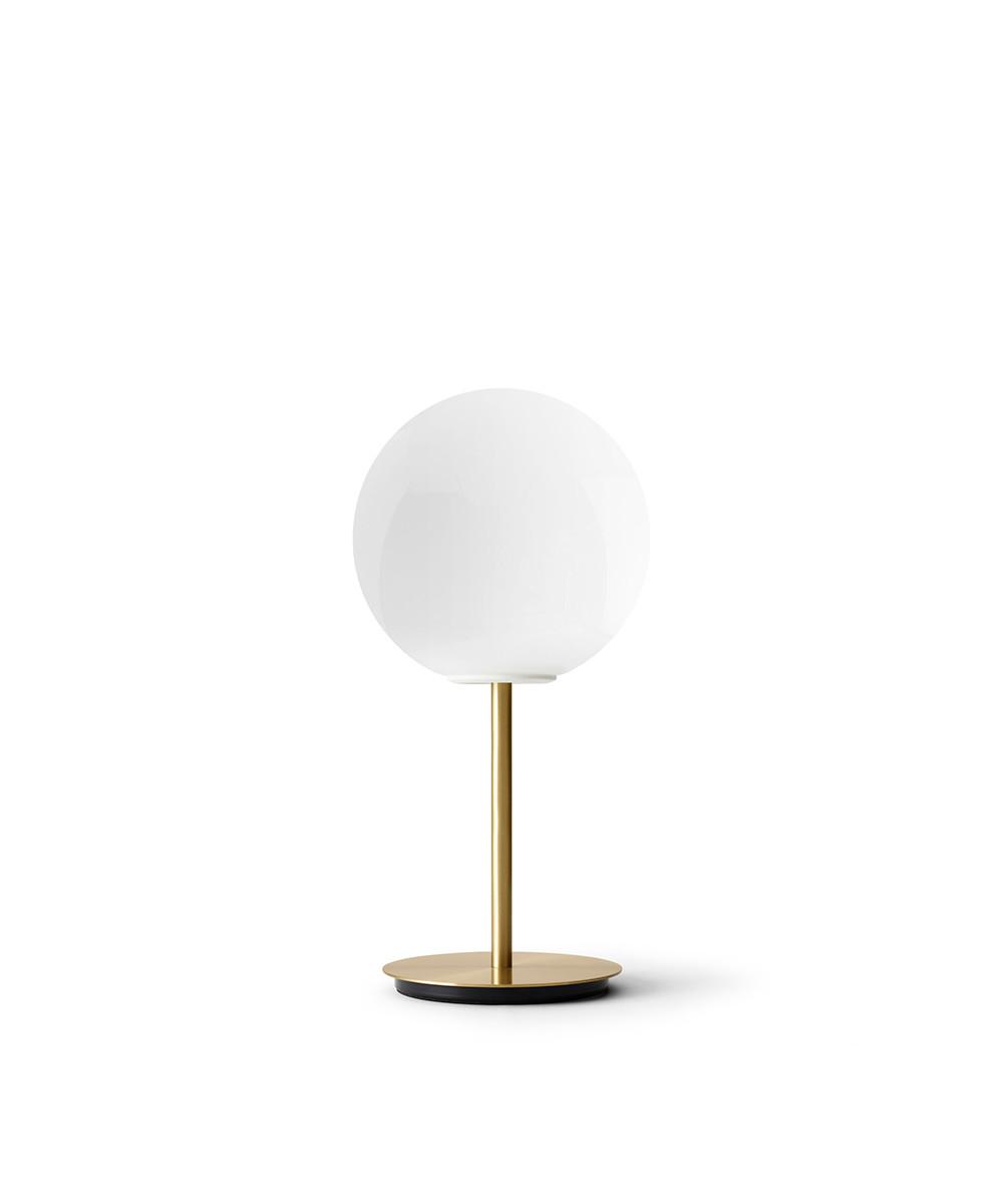 TR Bulb Bordlampe Brushed Brass/Shiny Opal - Menu