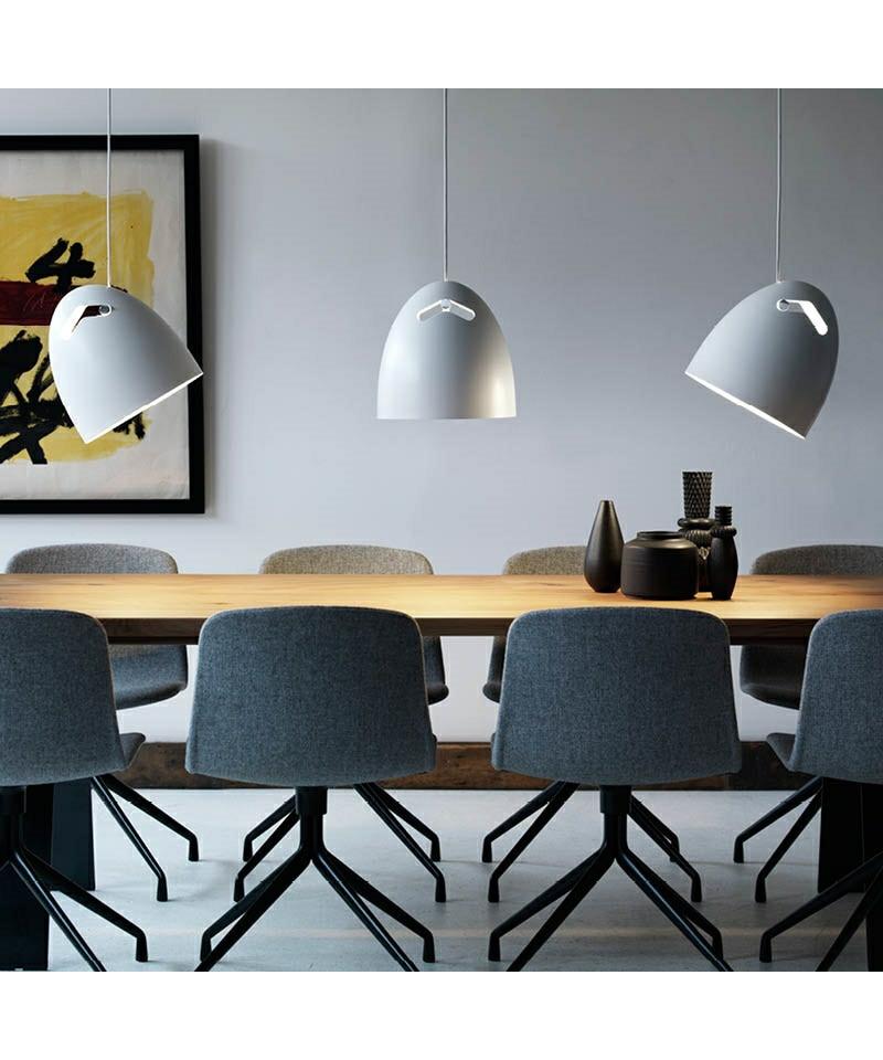 bell 30 pendel hvid dar. Black Bedroom Furniture Sets. Home Design Ideas