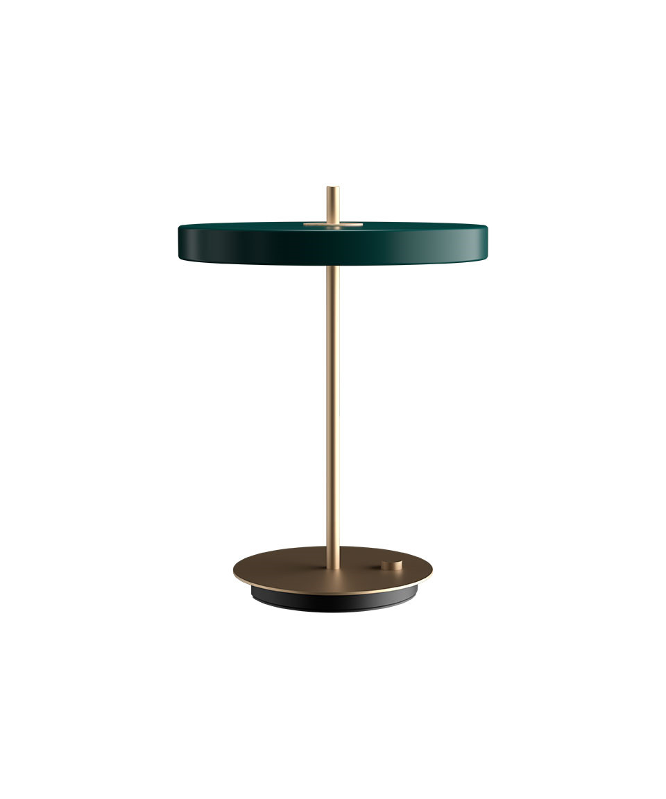 Image of   Asteria Bordlampe Forest Green - UMAGE