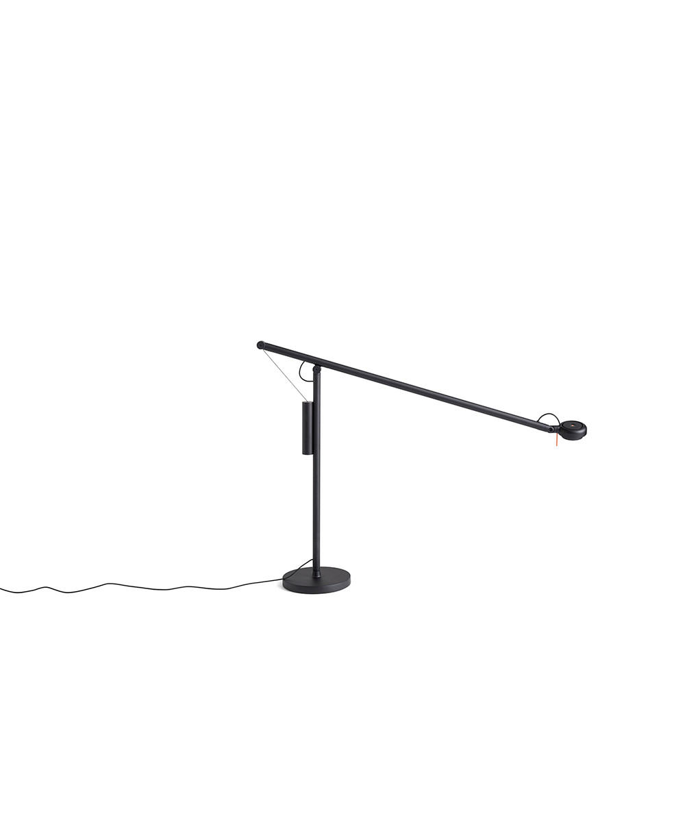 Image of   Fifty-Fifty Bordlampe Soft black - HAY