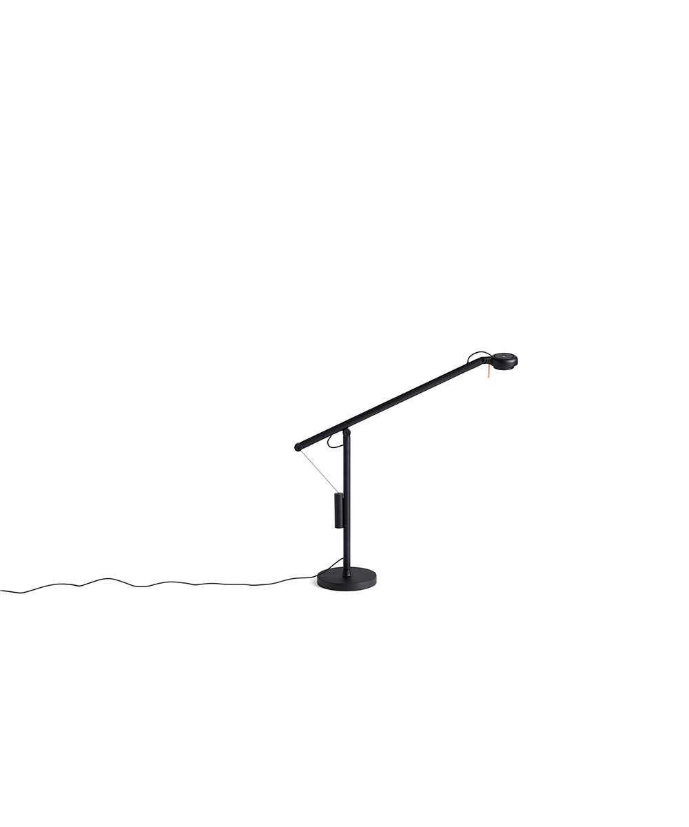 Image of   Fifty-Fifty Mini Bordlampe Soft black - HAY