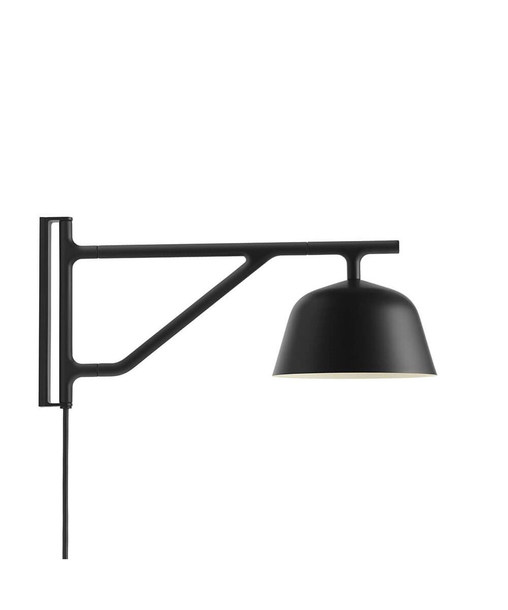 Image of   Ambit Væglampe Black - Muuto