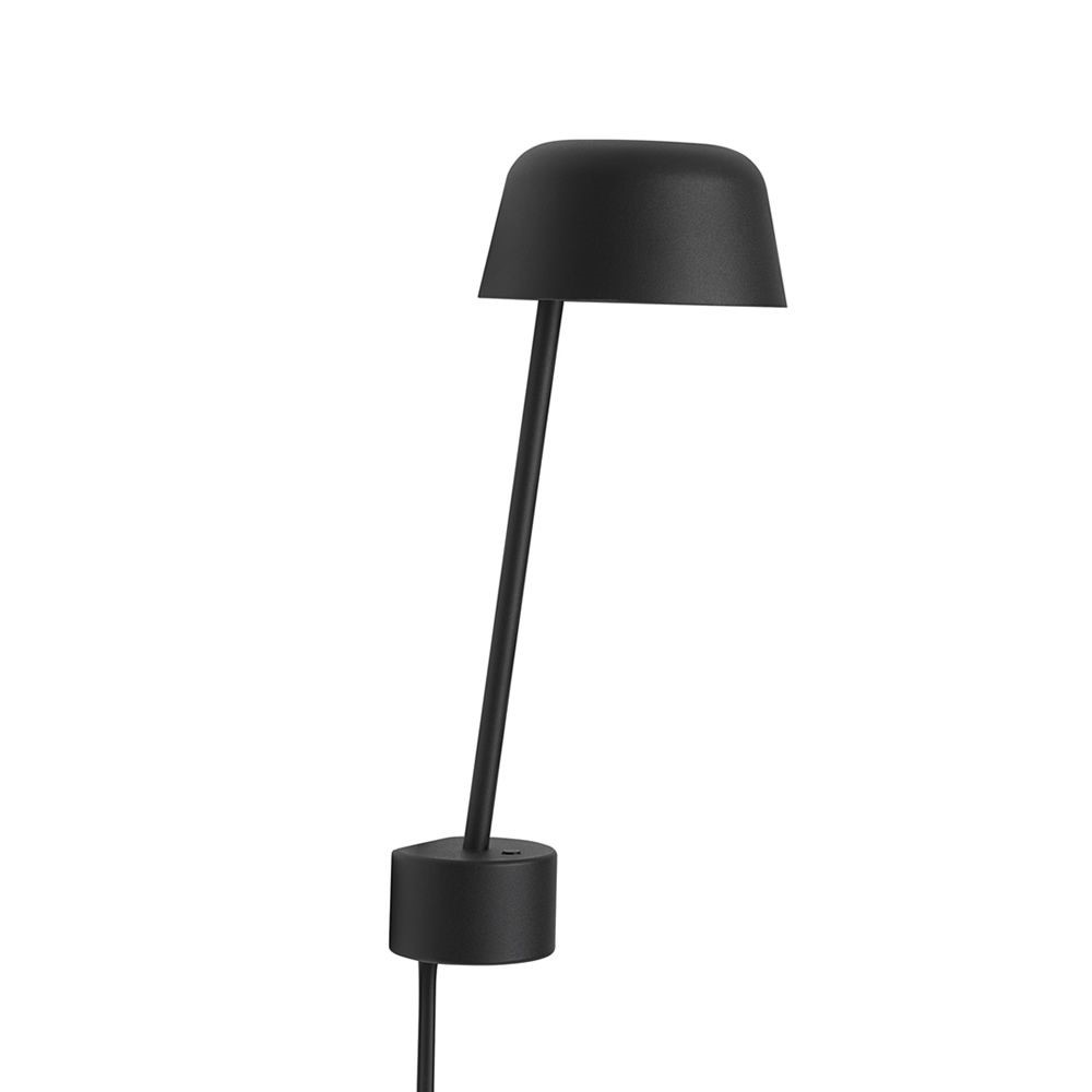 Image of   Lean Væglampe Black - Muuto