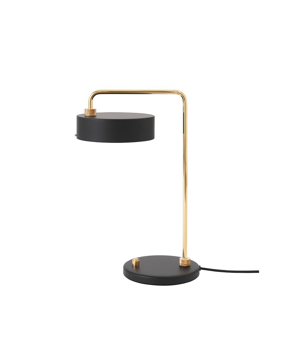 Petite Machine Bordlampe Deep Black - Made By Hand