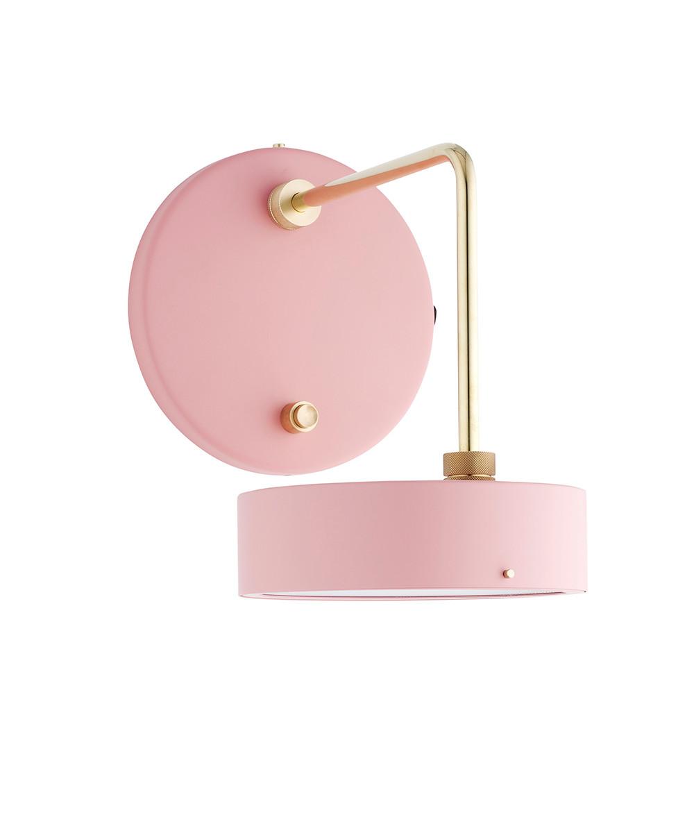 Petite Machine Væglampe Light Pink - Made By Hand