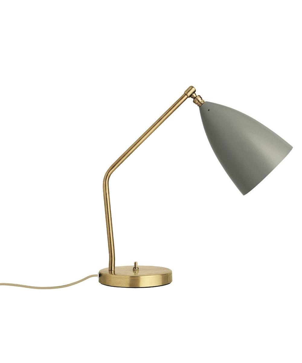 Gräshoppa Bordlampe Blå Grå - GUBI
