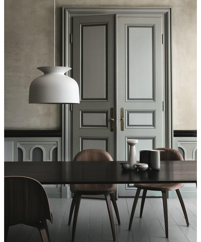 ronde pendelleuchte 40 schwarz gubi. Black Bedroom Furniture Sets. Home Design Ideas