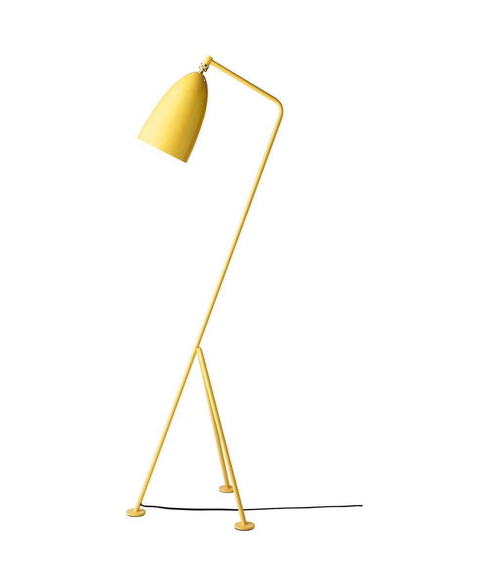 Gräshoppa Gulvlampe Aspen Yellow - GUBI