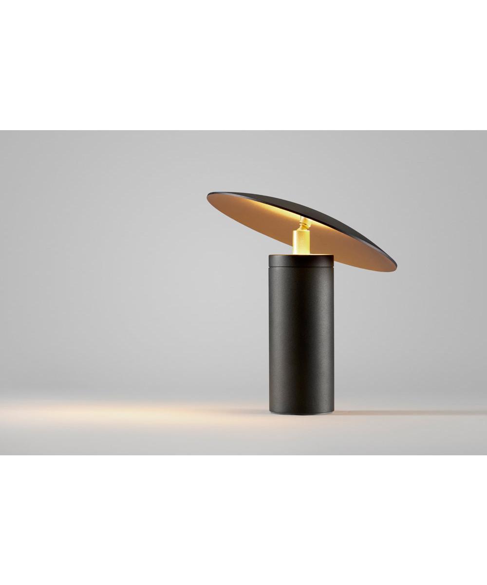 madison t1 tischleuchte schwarz gold light point. Black Bedroom Furniture Sets. Home Design Ideas